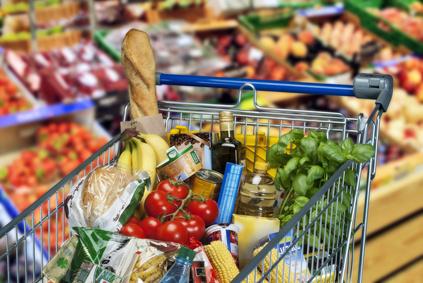 Branchenbild Handel Supermarkt