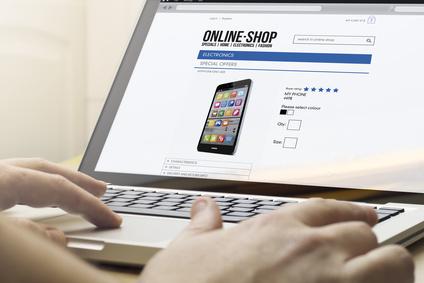 Branchenbild Online Shop